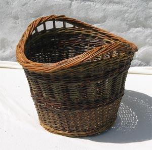 vasketøjskurv flet